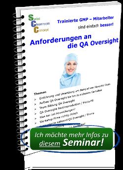Anforderungen an die QA Oversight