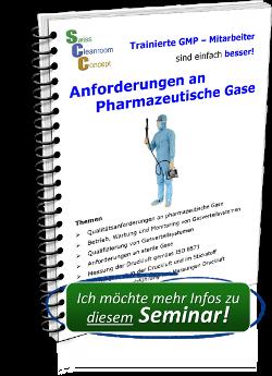 Seminar Anforderungen an pharmazeutische Gase