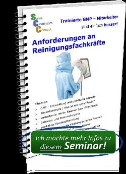 Seminar Anforderungen an Reinigungsfachkräfte