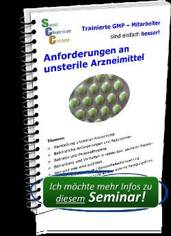 Seminar Anforderungen an unsterile Arzneimittel