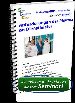 Seminar Anforderungen der Pharma an Dienstleister