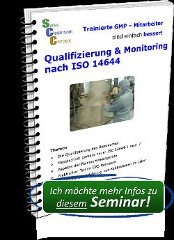 Seminar Reinraum Qualifizierung & Monitoring nach ISO 14644