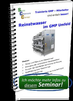 Seminar Reinstwasser im GMP Umfeld