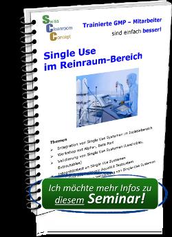 Seminar Single Use im Reinraum-Bereich