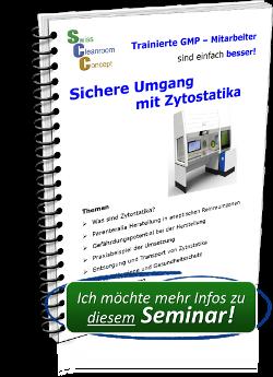 Seminar Sicherer Umgang mit Zytostatika